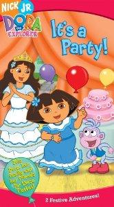 File:Dora the Explorer It's a Party! VHS.jpg