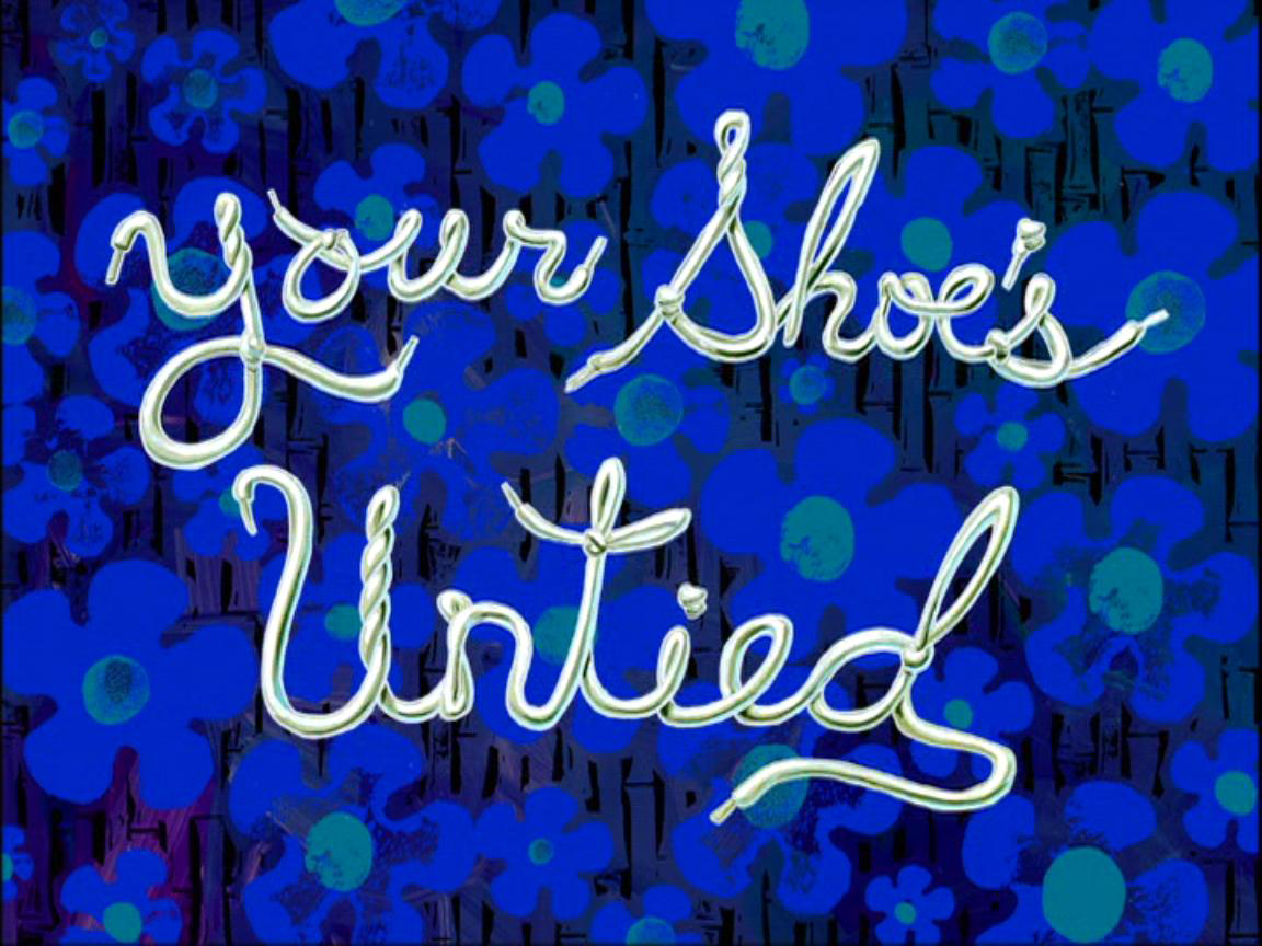 your shoe s untied nickelodeon fandom powered by wikia