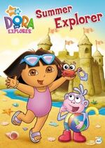 Dora The Explorer Summer Explorer DVD