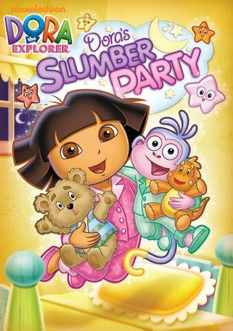 File:Dora the Explorer Dora's Slumber Party DVD.jpg