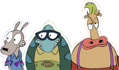 File:Rocko Filburt and Heffer by PhantomGoDeo.png
