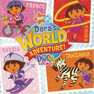 Dora the Explorer Dora's World Adventure CD