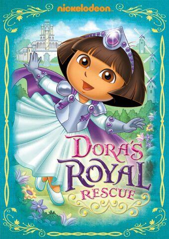 File:Dora the Explorer Dora's Royal Rescue DVD.jpg