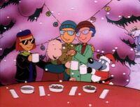 Doug Christmas shot