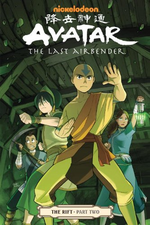 Avatar The Last Airbender The Rift Part Two Book