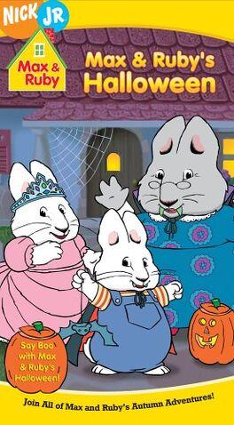 File:Max & Ruby Max & Ruby's Halloween VHS.jpg