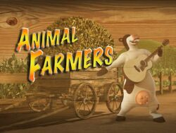 Back at the Barnyard Animal Farmers