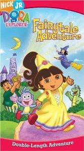 File:Dora the Explorer Dora's Fairytale Adventure VHS.jpg