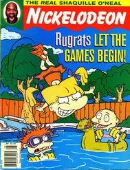 Nickelodeon magazine cover august 1996 rugrats