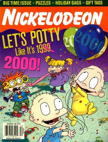 File:Nickelodeon Magazine cover December 1999 Rugrats Millennium.jpg