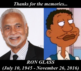 In Memory of Ron Glass