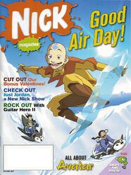 Nickelodeon Magazine cover February 2007 Avatar
