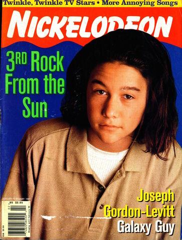 File:Nickelodeon magazine cover january february 1997 joseph gordon levitt 3rd rock from the sun.jpg
