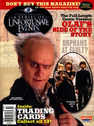 Nickelodeon Magazine presents A Series of Unfortunate Events December 2004