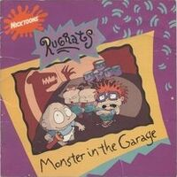 Rugrats Monster in the Garage Book