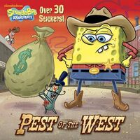 SpongeBob Pest of the West Book