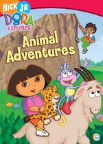 Dora the Explorer Animal Adventures DVD