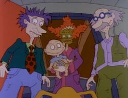 Rugrats Monster in the Garage