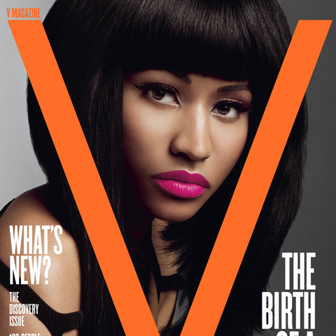 The January 2011 cover featuring Minaj.