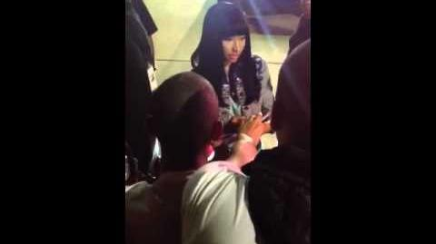 MODELS INC. Gets Autographs w NICKI MINAJ @ The Concert!