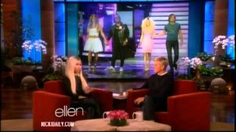Nicki Minaj Promotes on Ellen (September 27, 2013)
