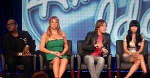American Idol judges TCA