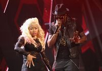 BET Awards Nicki 2Chainz