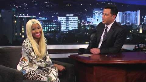 Nicki Minaj on Jimmy Kimmel Live PART 2