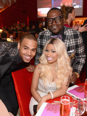 AIDS Oscars party 2 - Nicki Chris Randy