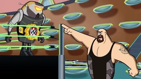 The Jetsons and WWE Space Age Superstars Jetsons & WWE Robo-Wrestlemania!