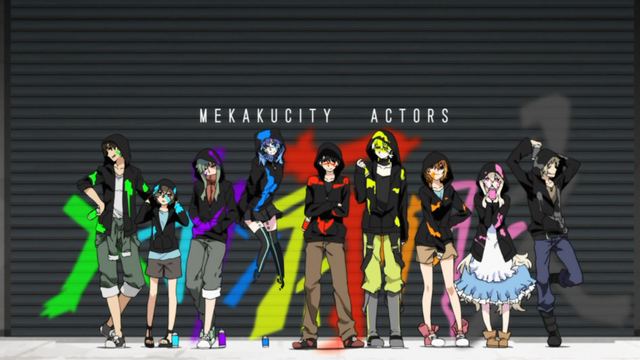 File:Mekakucity actors OP daze.png