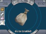 Crumbled DryIce