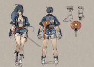 NG2 2S Art Char Momiji Costume DLC