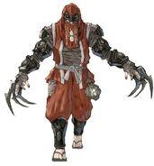 NG2 Art Enemy Ninja Claw 1a