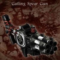 Gatlingspeargun
