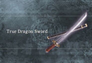 True dragon sword