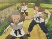 Genza revealing he is ninja