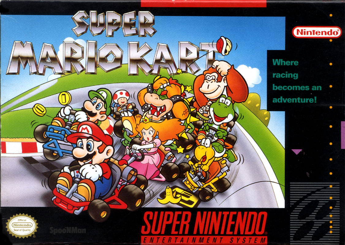 Image result for snes super mario kart yoshi