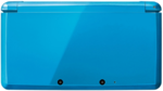 Cerulean Blue 3DS closed