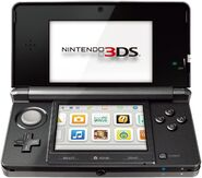 Shiny Cosmo Black 3DS