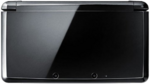 Clear Black 3DS closed