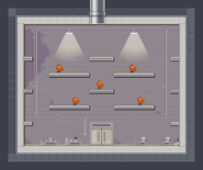 Nitrome Must Die 1-10 orange nose enemies