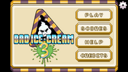 Bad Ice-Cream 3 Main Screen