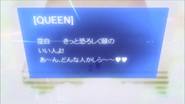 Queen's message in game chat