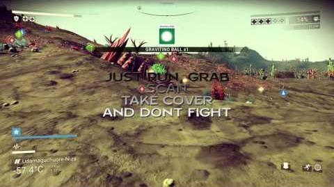 No Man`s Sky farming tutorial – How make units money – Gravitino Ball farm