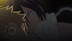 Yato catching Yukine