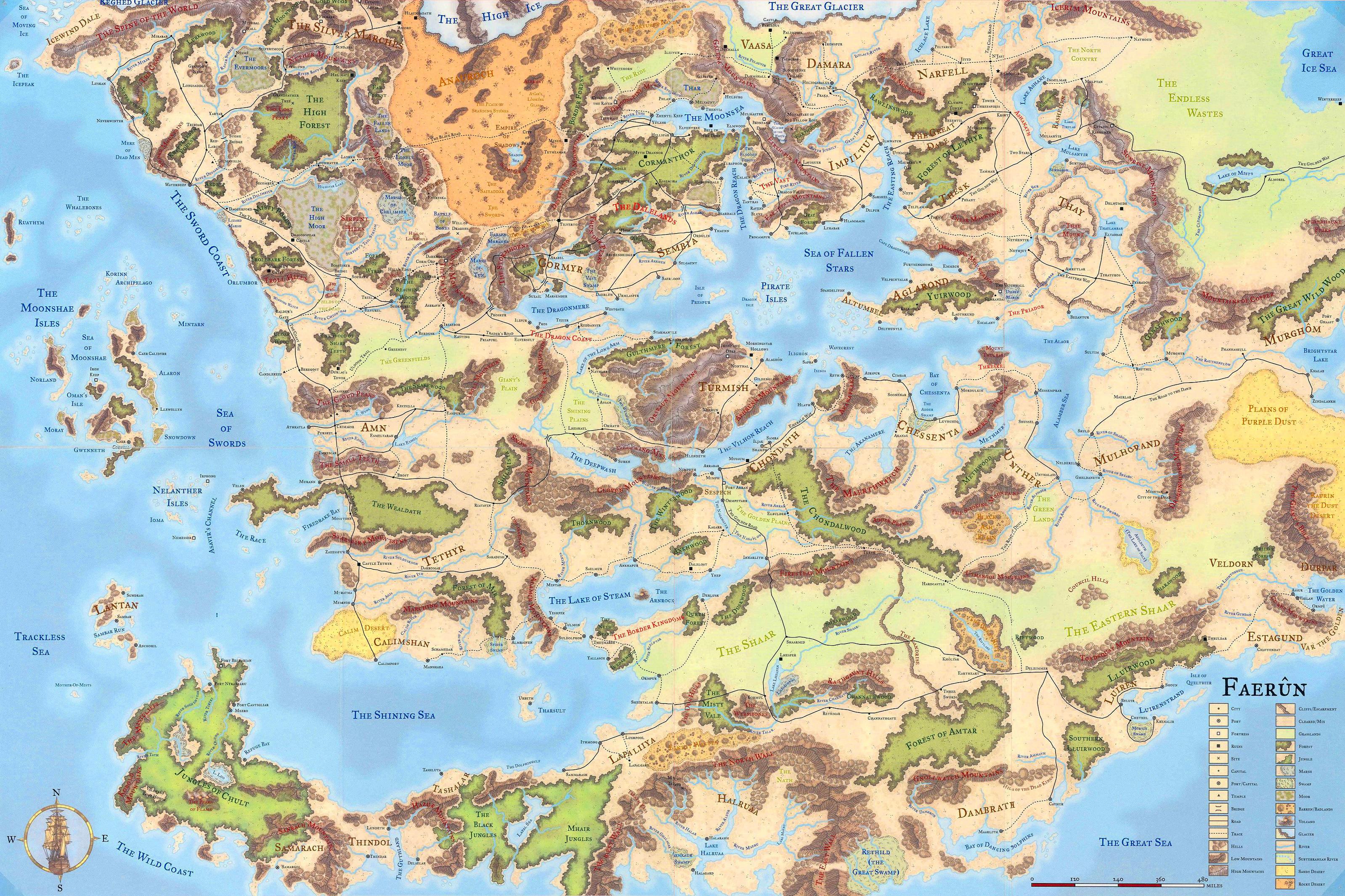Dd 4e World Map.Menzoberranzan