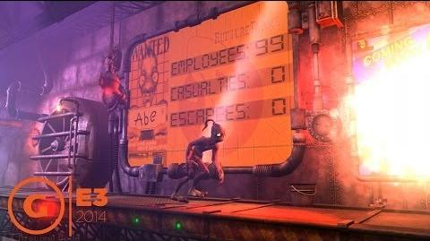 Oddworld New 'n' Tasty Intro Gameplay - E3 2014