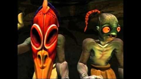 Oddworld Abe's Exoddus intro cut scene