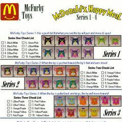 McFurby series 1-4.